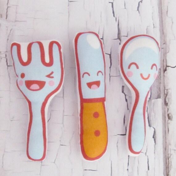 Silverware Play Food Trio