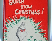 How the Grinch Stole Christmas Original Book 1957 First Edition