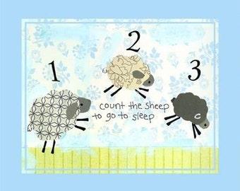 counting sheep night light