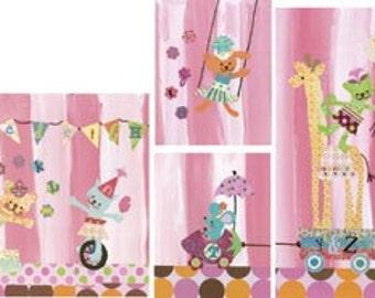 Cotton Candy Alphabet Circus