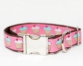 Cupcake BIG Dog Collar