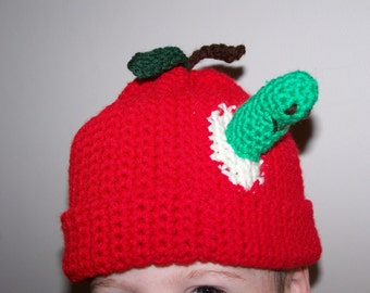 Apple Hat PDF Pattern