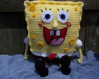 SpongyBob Ami Pattern with free Plankton pattern included