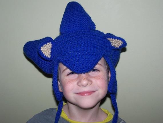 Sonic the Hedgehog Earflap Hat