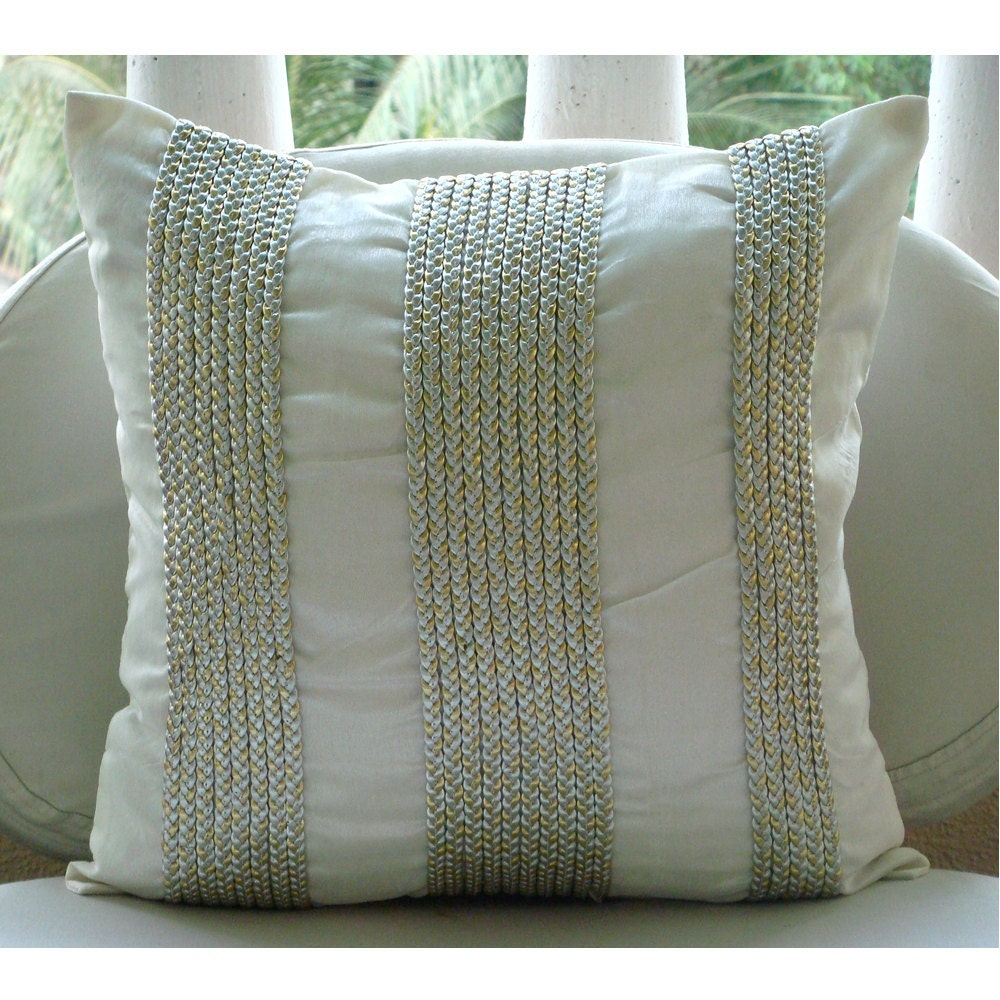 euro pillow shams on sofas