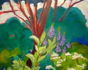 Estuary 4 original landscape oil painting