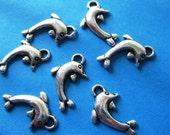 25pcs Tibetan Silver dolphin charms