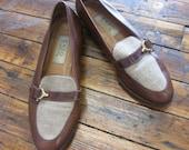 8 Vintage Enzo Angiolini loafers