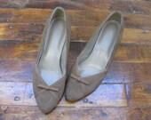 Sz 6 Vintage Sweetheart Shoes