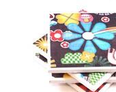 Tile Coasters - Sunny Days Coasters - Set of 4 Ceramic Tiles