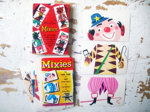 MIXIES- Vintage Card Game, by Ed-U-Card - Complete and in EXCELLENT Condition