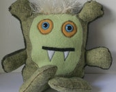 Luther-Plush Monster-Recycled Materials