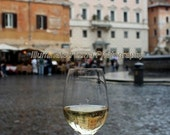 SALE Waiting out the Rain in Rome, Italy - 20 x 30 Fine Art Photograph Poster, FREE Shipping by IlluminatedLuna on Etsy