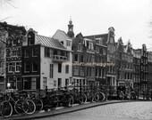 SALE Amsterdam Street Scene - Signed 8 x 12 Fine Art Photograph by IlluminatedLuna on Etsy