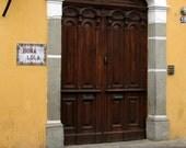SALE A Door in Antigua, Guatemala - Color 5 x 7 photograph by IlluminatedLuna on Etsy