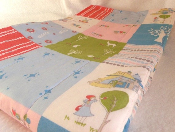 Organic Baby & Toddler Quilt, Playmat, Storeyboek