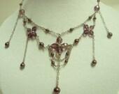 Handmade Beadwork. Jewellery - Necklace - Petite Drops