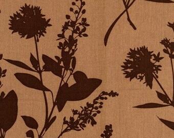 1 yard, Wildflowers HDJD05 Flax - Home Decor Fabric - Ginseng by Joel Dewberry