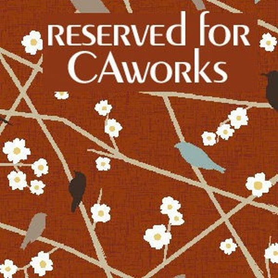 Reserved listing for  CAWorks - Polly Goes to Paris and Dogwood fabrics by Henry Glass -  2 yards