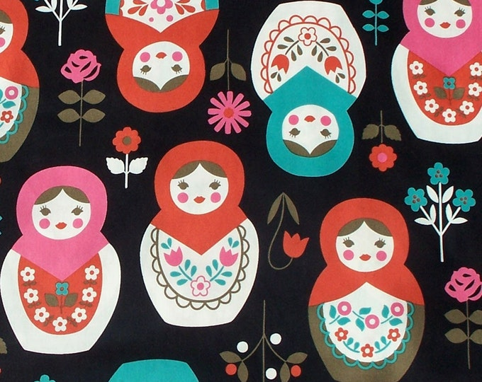 Large Matryoshka fabric K20E40 - Japanese Cotton - select a length