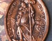 St. Christopher  Oval Medal