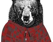 Bears Love Flannel Shirts
