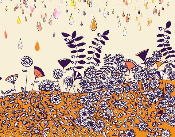Morning Rain - Art Print