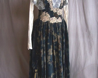 Edwardian Styled Skirt with Lace