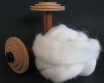 ROMNEY ROVING- Undyed Colorway - 4 ounces