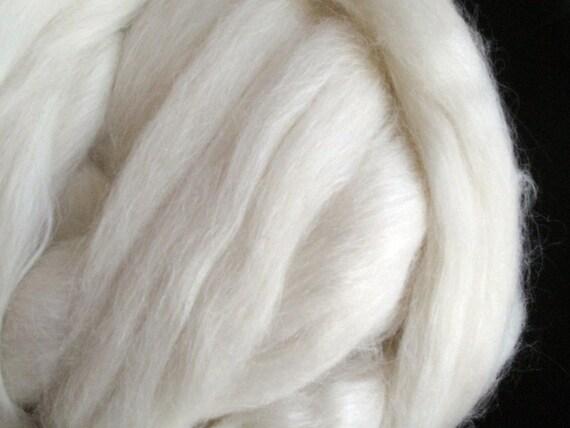 Alpaca / Merino / Silk 50/30/20 Spinning Fiber - 2 ounces