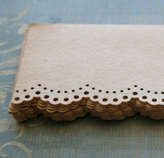 12 Aged No Lines Paper Lace Pack