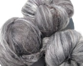 RESERVED Monochromatic Fiber Batts (Black and White)