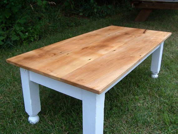 Items similar to Farm style coffee table on Etsy