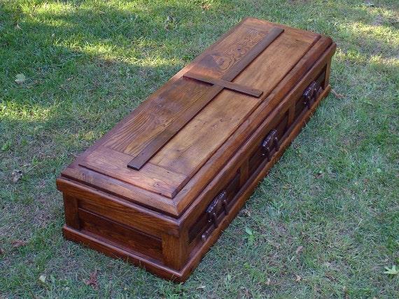 Hand Built Reclaimed Wood Casket
