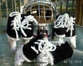 Instant Download - Ice Hockey Skates Crochet Pattern