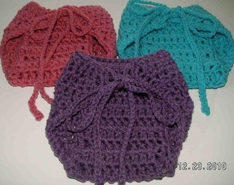 Pick-your-own-color diaper cover - great for everyday wear or as a photo prop for babies