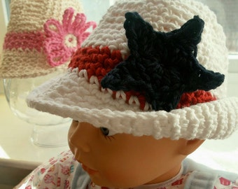 Summer Fedora hats for babies to 24 months
