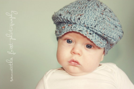 Donegal cap for babies in four sizes