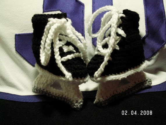 Hockey Skate booties for a future NHL All-Star with FREE SHIPPING