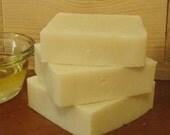 Pure Castile Soap - no added fragrances\/color - large bar