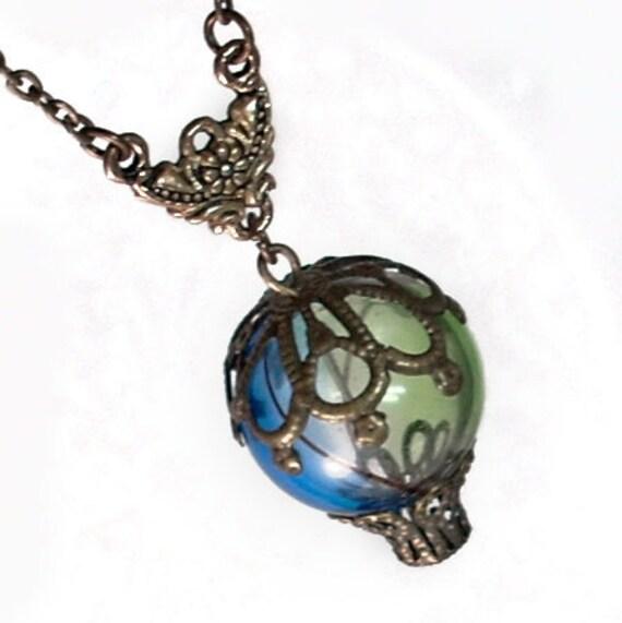 Beautiful Balloon - Hot Air Balloon Pendant Necklace Jewelry Jewellery