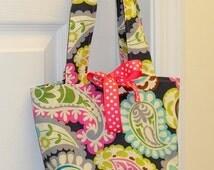 Children's Purse -  Paisley Purse - Children's Bag -  Reversible Bag - Handbag -  Girls Gift Idea - Groovy Gurlz
