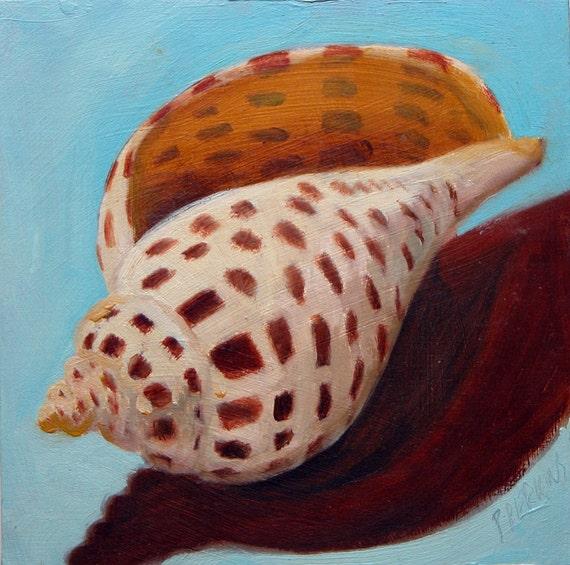 Junonia Shell Original Oil Painting