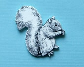 Sweet and Simple Squirrel Pin