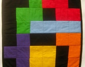 Tetris Kitty Quilt