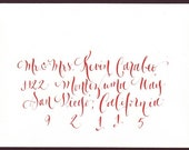 Wedding Envelope Calligraphy - Addressing for weddings or events