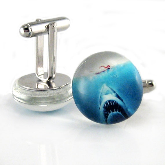 Jaws cufflinks
