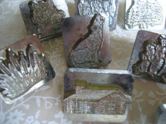 LEATHER STAMPING PICTURE SET. CRAFT TOOL COMPANY.