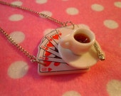 Enchanted Alice in Wonderland Necklace