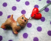 Tiny Scottish Terrier Littlest Pet Shop Necklace